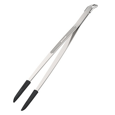 Pedrini 6118 Elegance Stainless Steel Kitchen Tongs exxab.com