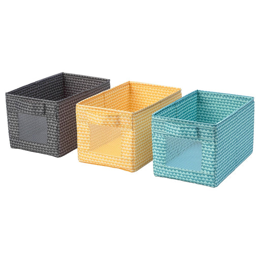 UPPRYMD Storage Box Set Of 3 Pieces exxab.com