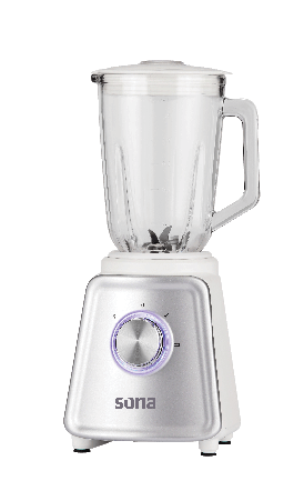 Sona SB-611W Electric glass blender  1.5 L 800 watt, 2 speed