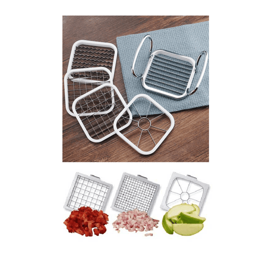 Osun multi chopper 5 in 1 for fruits and vegetables, with 3 Dicing Blades exxab.com