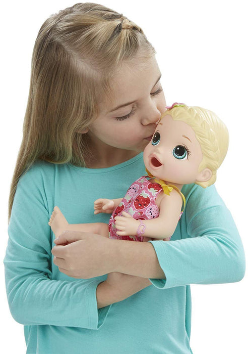 Hasbro C2697 Baby Alive Super Snacks Snacking' Lily (Blonde) - exxab.com