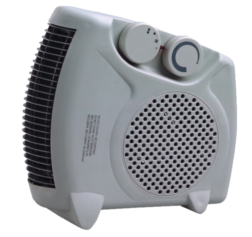 Home Electric HK-05 Fan Heater 2000W White - exxab.com