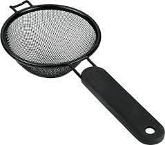 METALTEX Non-Stick Strainer with a Plastic handle exxab.com