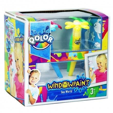 Five Stars 361-17 Crea Dough Qolor Window Paint-Sea World exxab.com