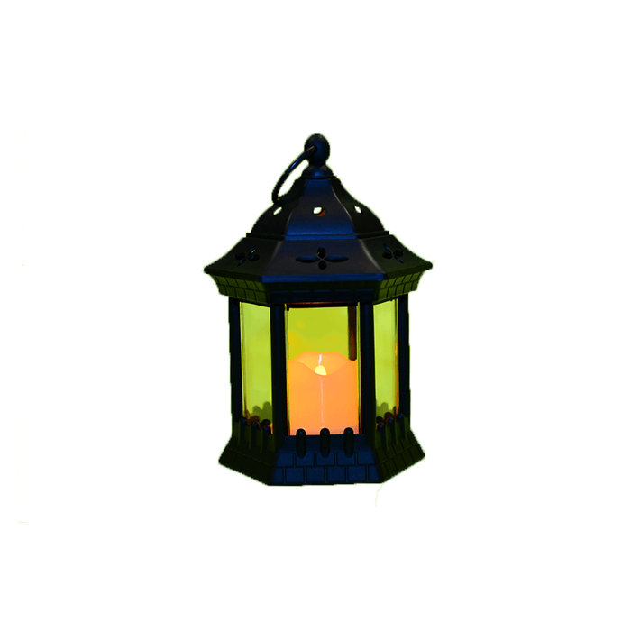 Ramadan decorative small lantern with LED lights exxab.com