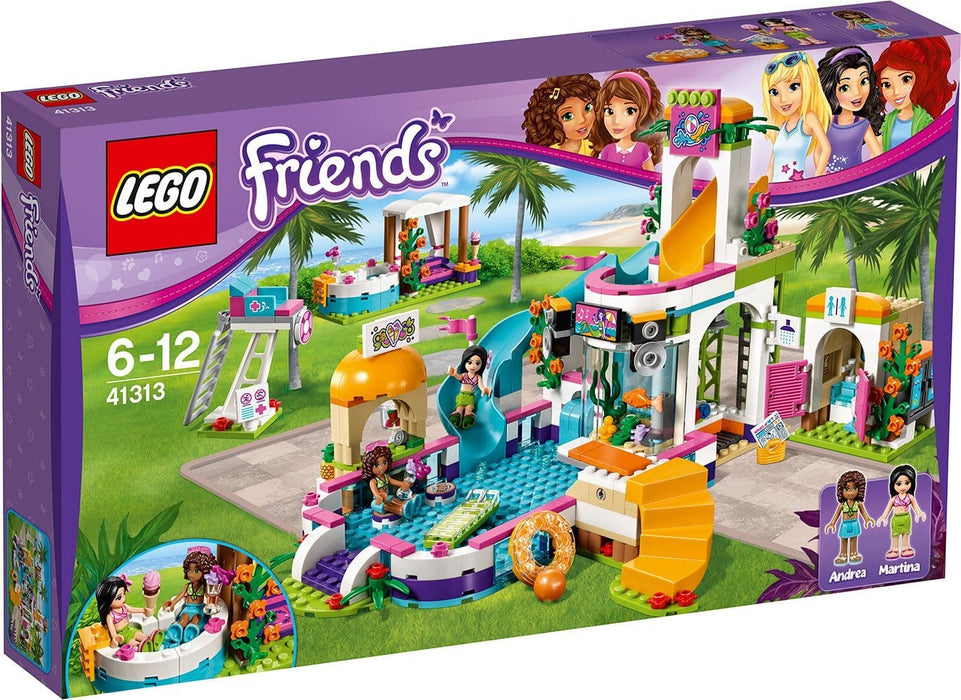 Bela Friend Princess Heartlake Summer Pool building blocks