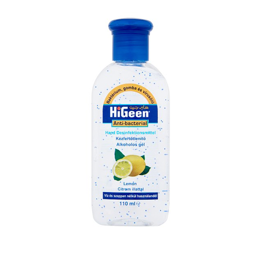 HiGeen Lemon Hand Sanitizer Kills 99% Of Germs 110 ml exxab.com