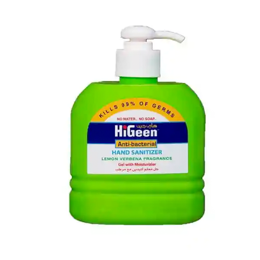 HiGeen Lemon Hand Sanitizer Kills 99% Of Germs 500 ml exxab.com