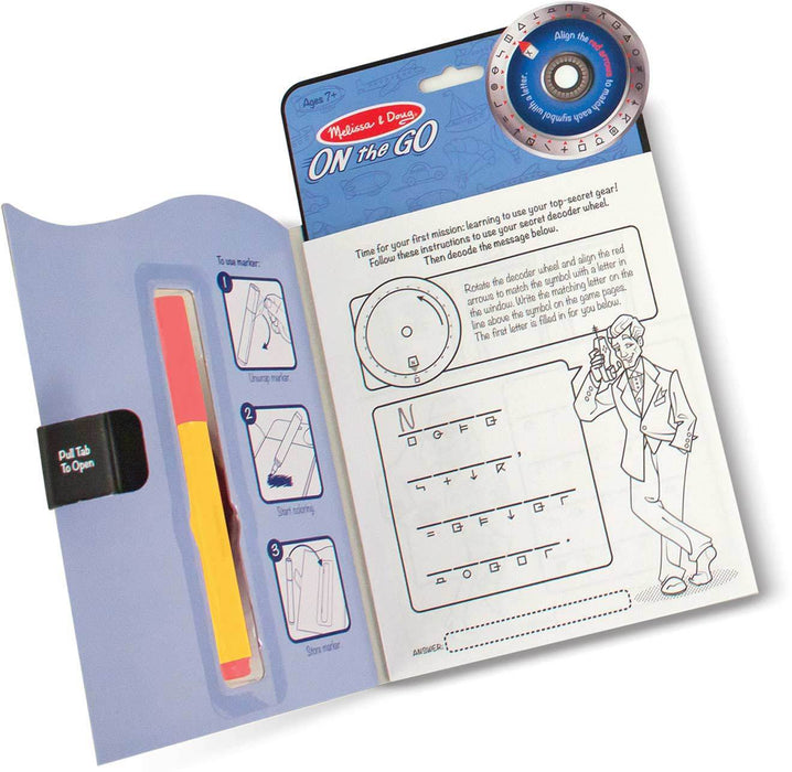 Melissa A Doug 5248 Secret Decoder Activities Book Set - exxab.com