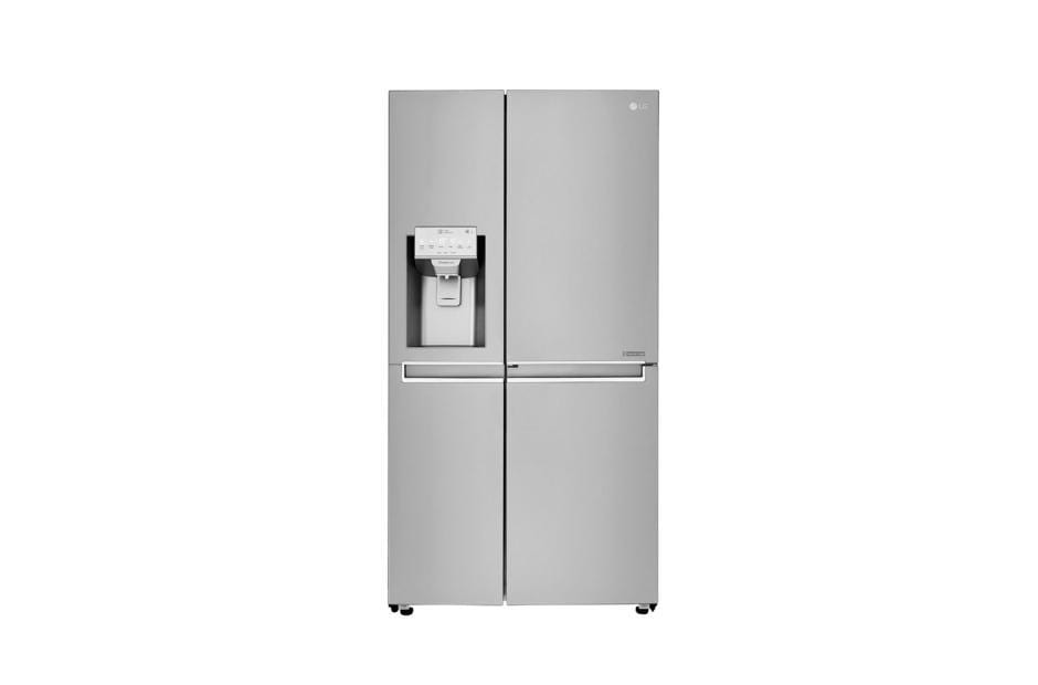 LG GCJ-267PHL Side By Side Refrigerators.26CFT,Water Dispe,Shiny Steel,Touch, LE exxab.com