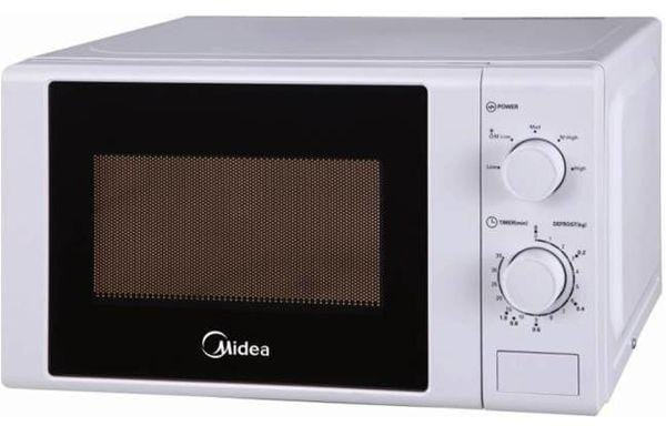 Midea Mm720cge-w White Microwave Oven  20L Capacity exxab.com
