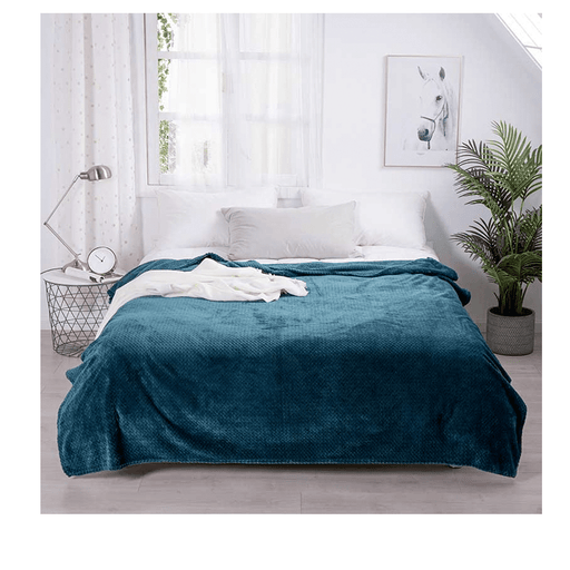 Comfort Winter Flat Fleece Blanket exxab.com