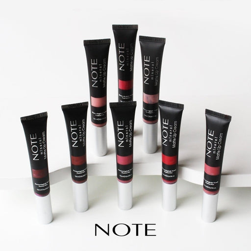 Note Mineral Matte Lip Cream - exxab.com