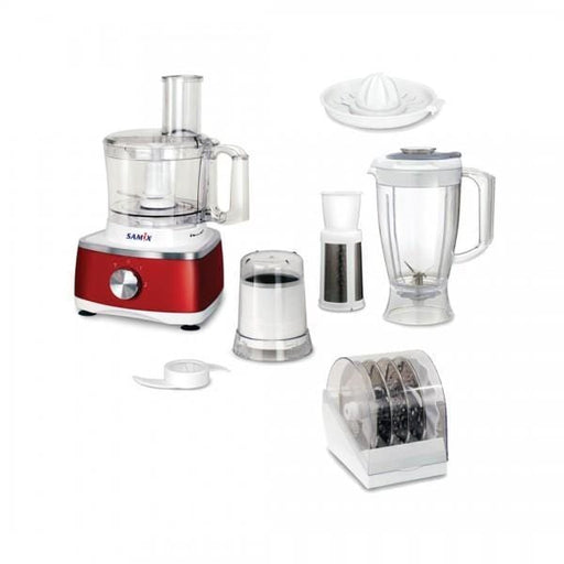 Samix P-608 Food Processor with blender & grinder 400 watt