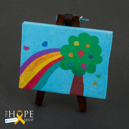 Canvases by cancer patients drawings (to support the treatment of cancer patients) exxab.com