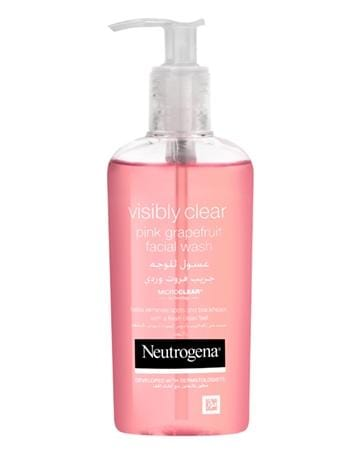 Neutrogena Oil Free Acne Wash Pink Grapefruit Facial Cleanser - exxab.com