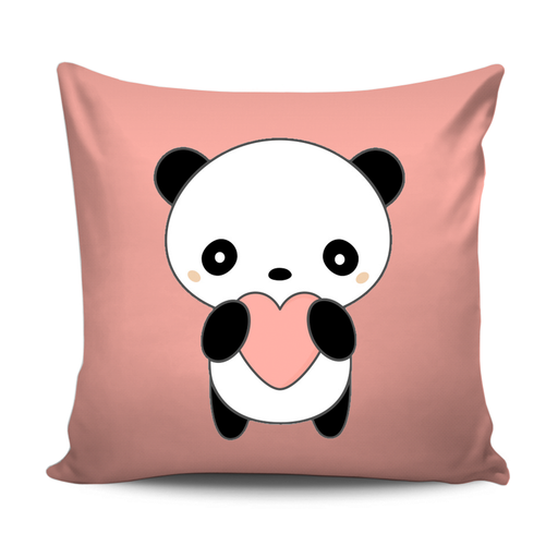 Home Decor Cushion With Cute Panda Design exxab.com