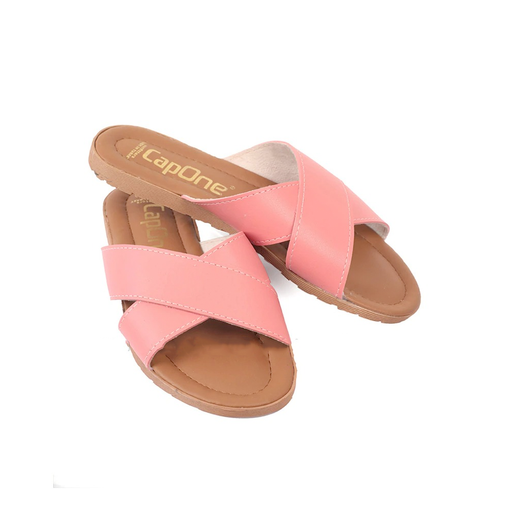 Pink Women's Summery Slippers exxab.com