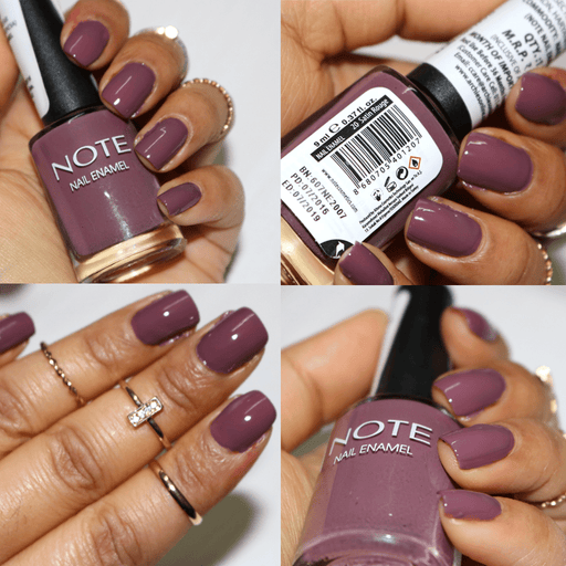 Note Nail Polish 9 ml, 20 Satin Rouge exxab.com