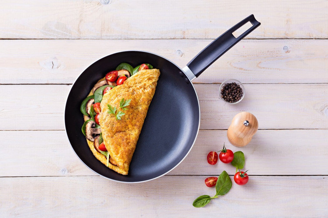 Pyrex Frying pan argento, gold color with ceramic coating exxab.com