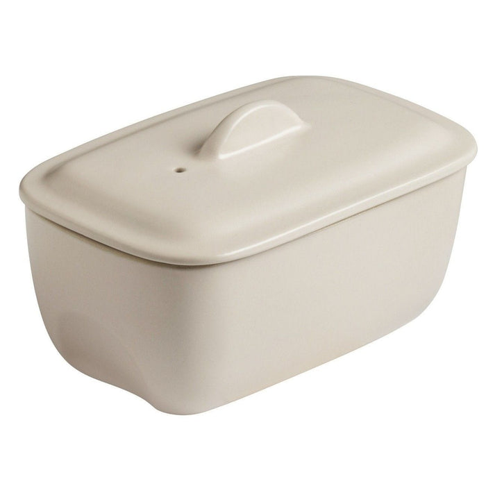 Pyrex CU17RT8 Curves White ceramic rectangular Casserole exxab.com