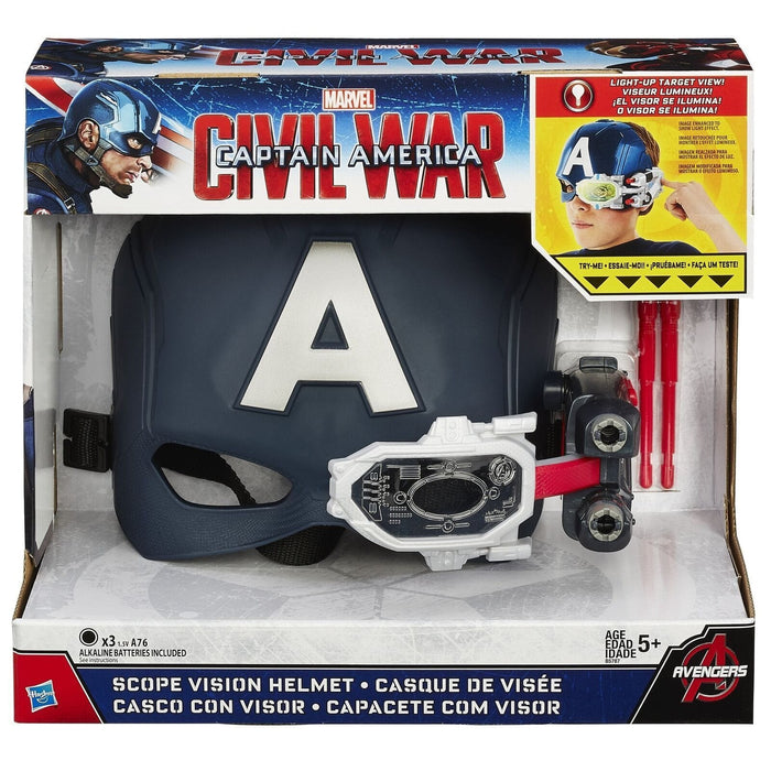 Hasbro B5787 Marvel Captain America Scope Vision Helmet exxab.com
