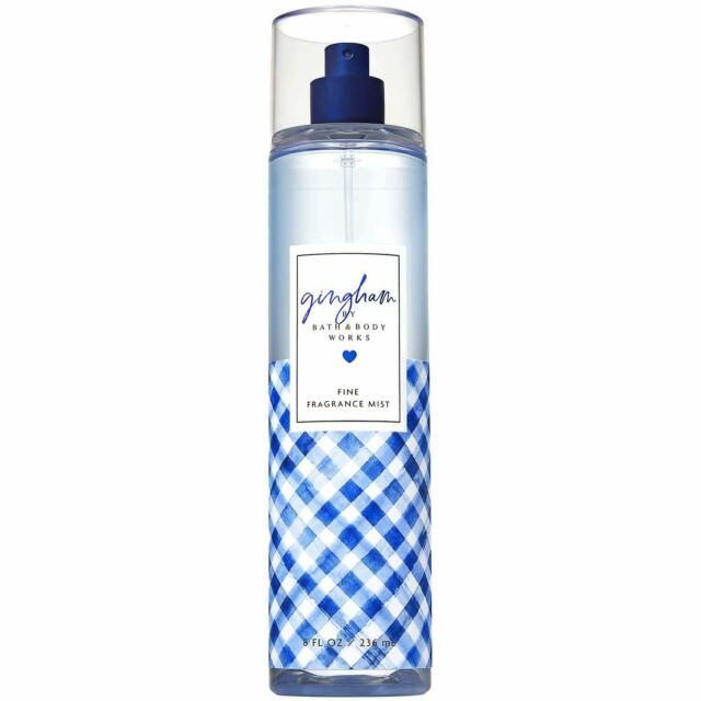 Bath & Body Works Gingham Fine Fragrance Mist Splash - exxab.com