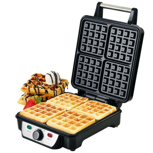 Geepas GWM5417 Electric Waffle Maker 4 Slices exxab.com