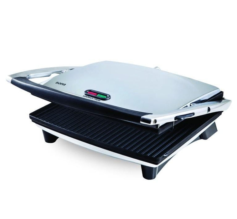 Sona SG 2737G Electric Stainless steel Toast & Grill ,1800 Watt