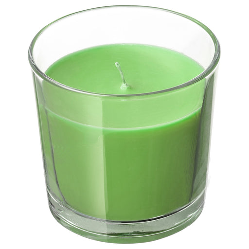 Scented Candle in Glass, Apple and pear 40 Hr