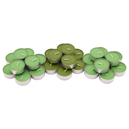 Scented Tealight Apple and pear Green (30 pack) exxab.com