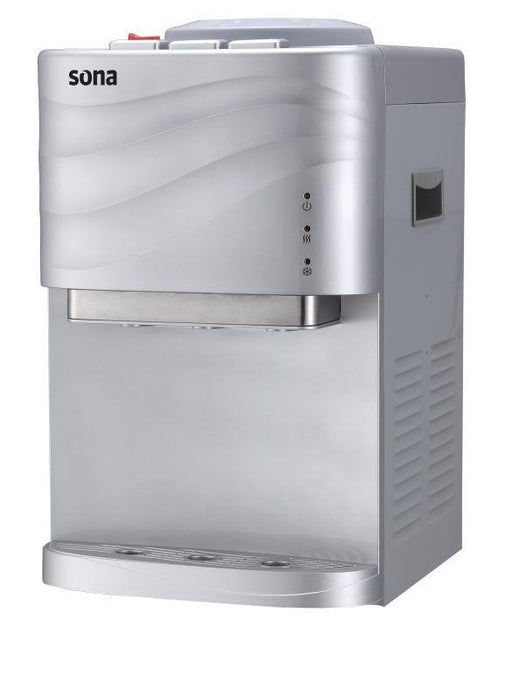 Sona YL-1740T-S countertop water dispenser with 3 water spouts exxab.com