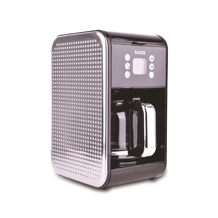 Sona SCM-1980B Programmable  Drip american coffee maker with Timer & Removable filter, 1.8 Liter capacity exxab.com