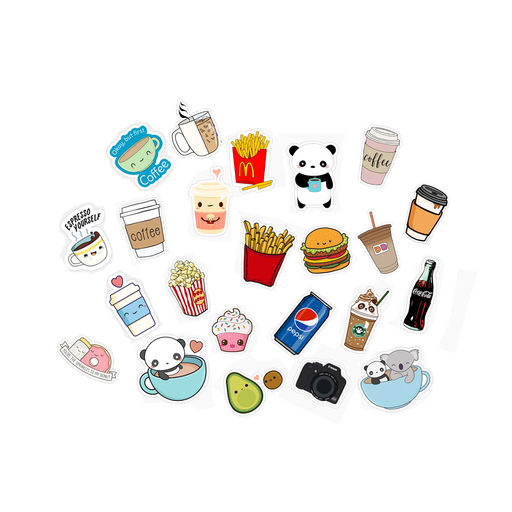 Cute Random Mini Stickers 20 Pieces exxab.com