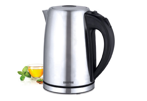 Geepas GK6123 Stainless Steel Water Kettle exxab.com