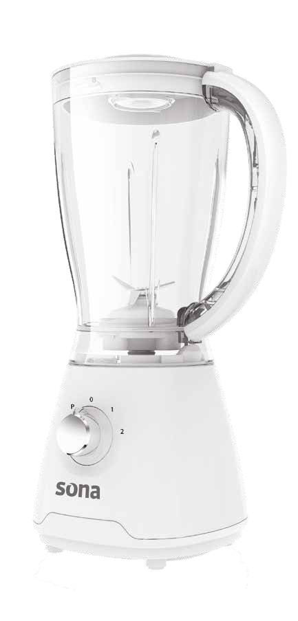 Sona SBL-9295 Electric Plastic Blender With Grinder exxab.com