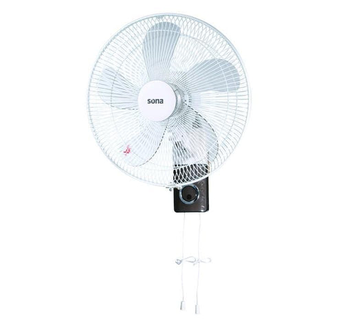 Sona WF-4023 electric wall mount Fan 16 inch with pull cord - exxab.com