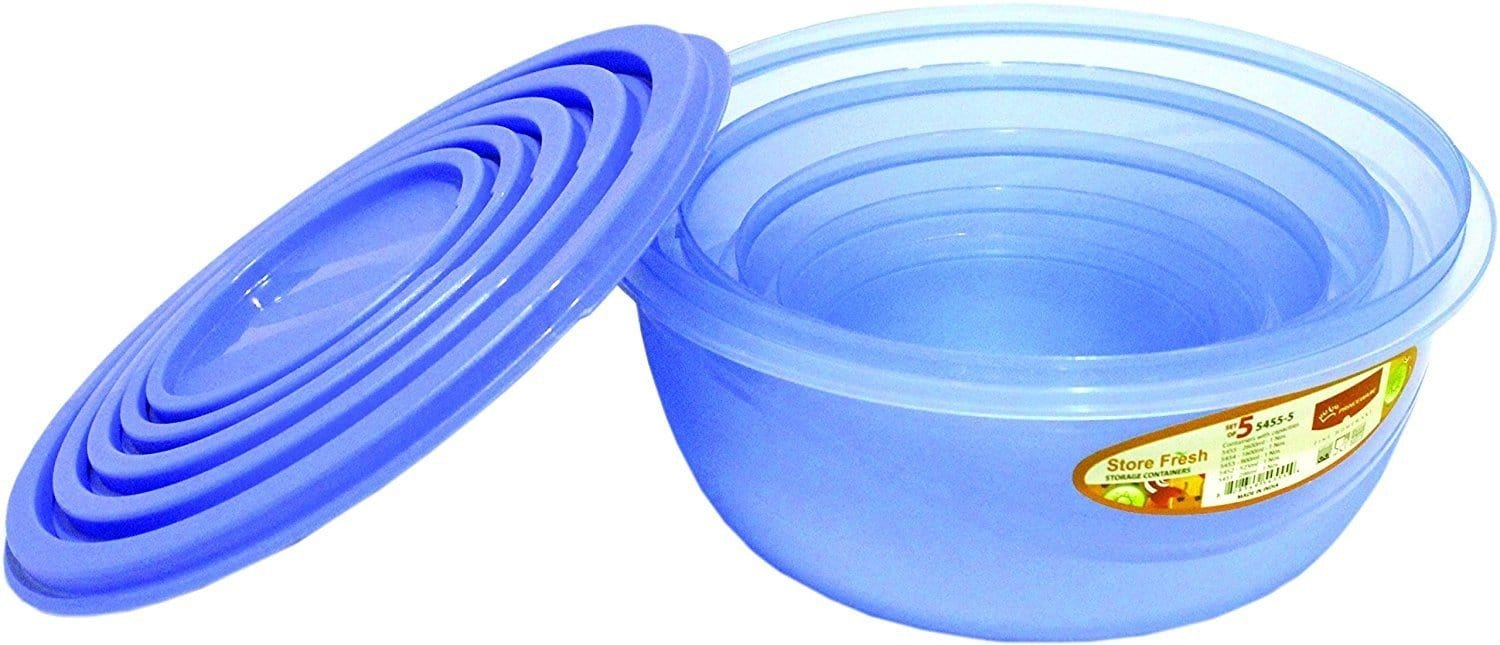 Princeware 5454/4 combo round food storage containers, set of 4 pcs exxab.com