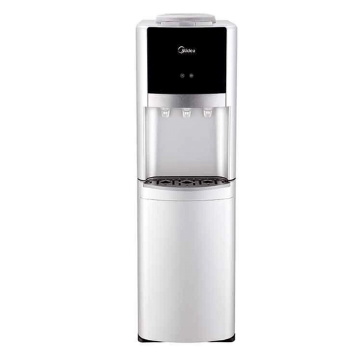 Midea YL1337S-W Silver water dispenser with three water faucets exxab.com