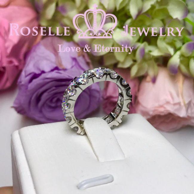 Eternity Band Wedding Ring - BA30 - Roselle Jewelry