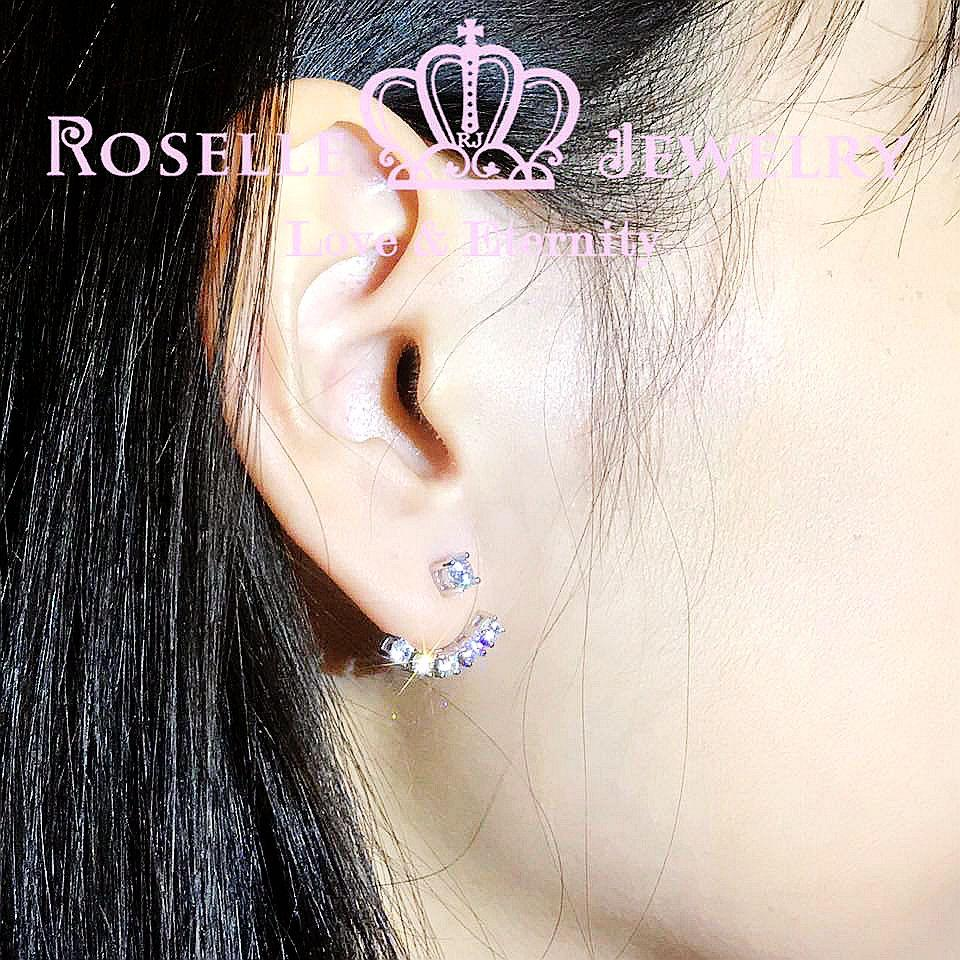 Detachable Stud Earrings - JE1 - Roselle Jewelry