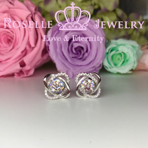 Floral Stud Earrings - RR2
