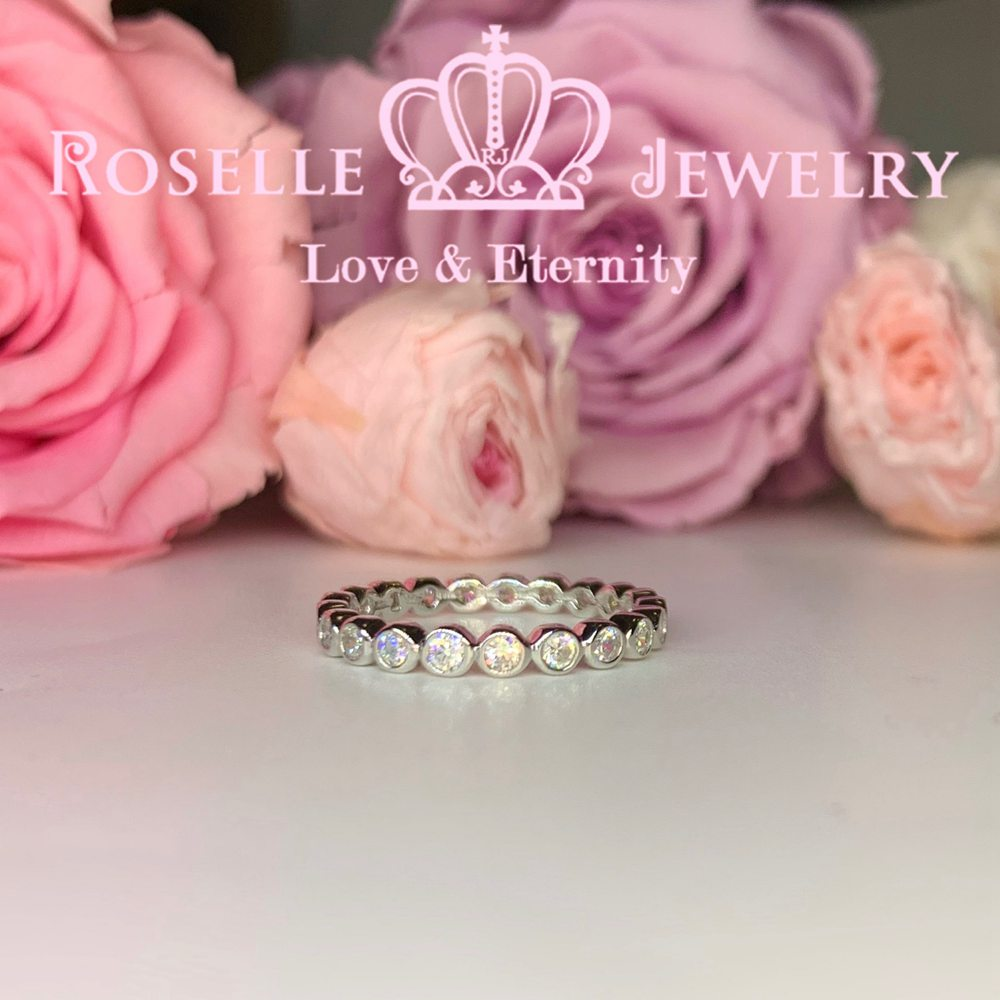 Eternity Wedding Ring - BA32 - Roselle Jewelry