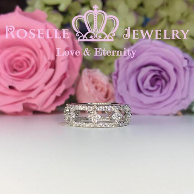 Floral Fashion Ring - BA21 - Roselle Jewelry