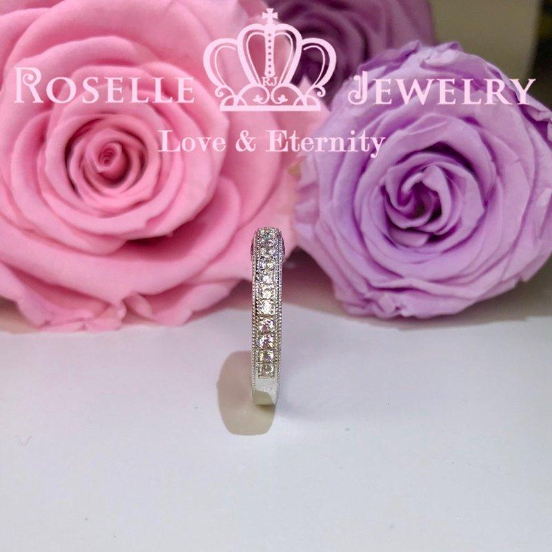 Vintage Wedding Ring - BV2 - Roselle Jewelry