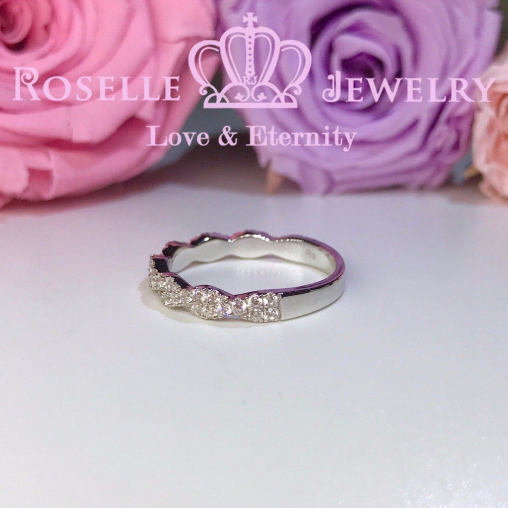 Twist Wedding Ring - BA25 - Roselle Jewelry