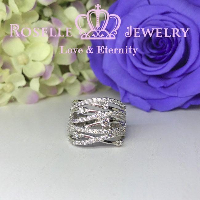 Twist Fashion Ring - BA16 - Roselle Jewelry