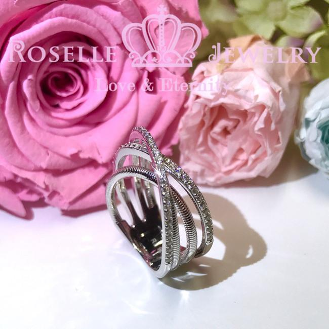 Twist Fashion Ring - BA26 - Roselle Jewelry