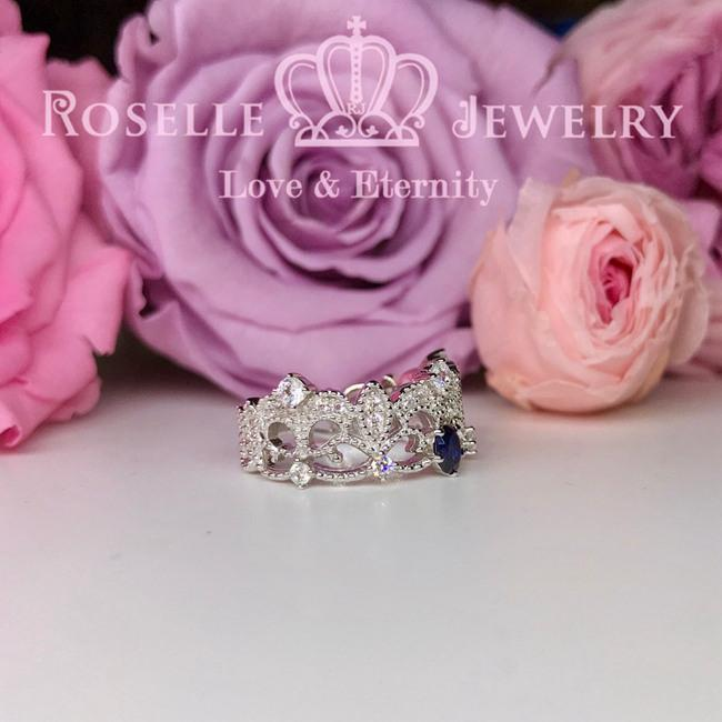 Vintage Fashion Engagement Ring - BV4 - Roselle Jewelry
