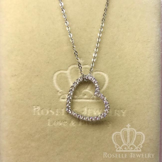 Heart Shape Drop Pendants - HC3 - Roselle Jewelry